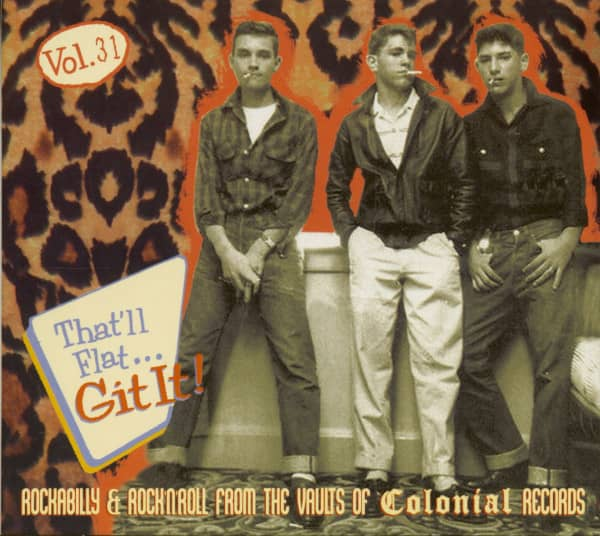 Vol.31 - Rockabilly & Rock 'n' Roll From The Vaults Of Colonial Records (CD)