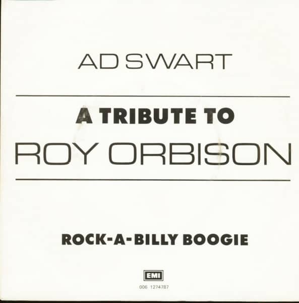 A Tribute To Roy Orbison (7inch, 45rpm, PS)