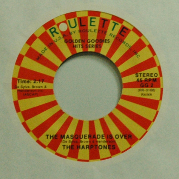 The Masquerade Is Over b-w The Shrine Of St. Cecilia 7inch, 45rpm