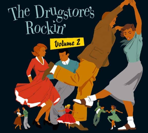 Vol.2, The Drugstore's Rockin' (CD)