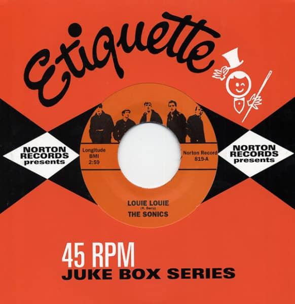 Louie Louie 7inch, 45rpm Jukebox Series