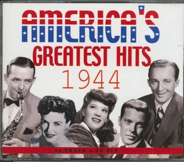 America's Greatest Hits 1944 (4-CD)