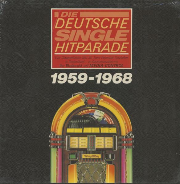 Die deutsche Single Hitparade - 1959-1968 (10-LP)
