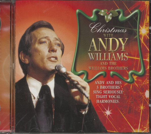 Christmas With Andy Williams & The Williams Brothers (CD)