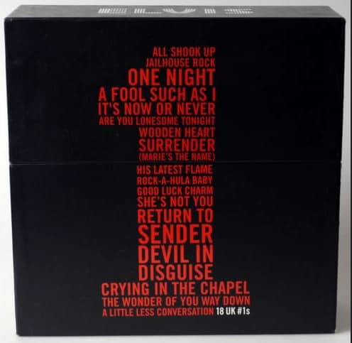 18 UK #1s - Box Set (18x10inch, 45rpm, CS, Ltd.)