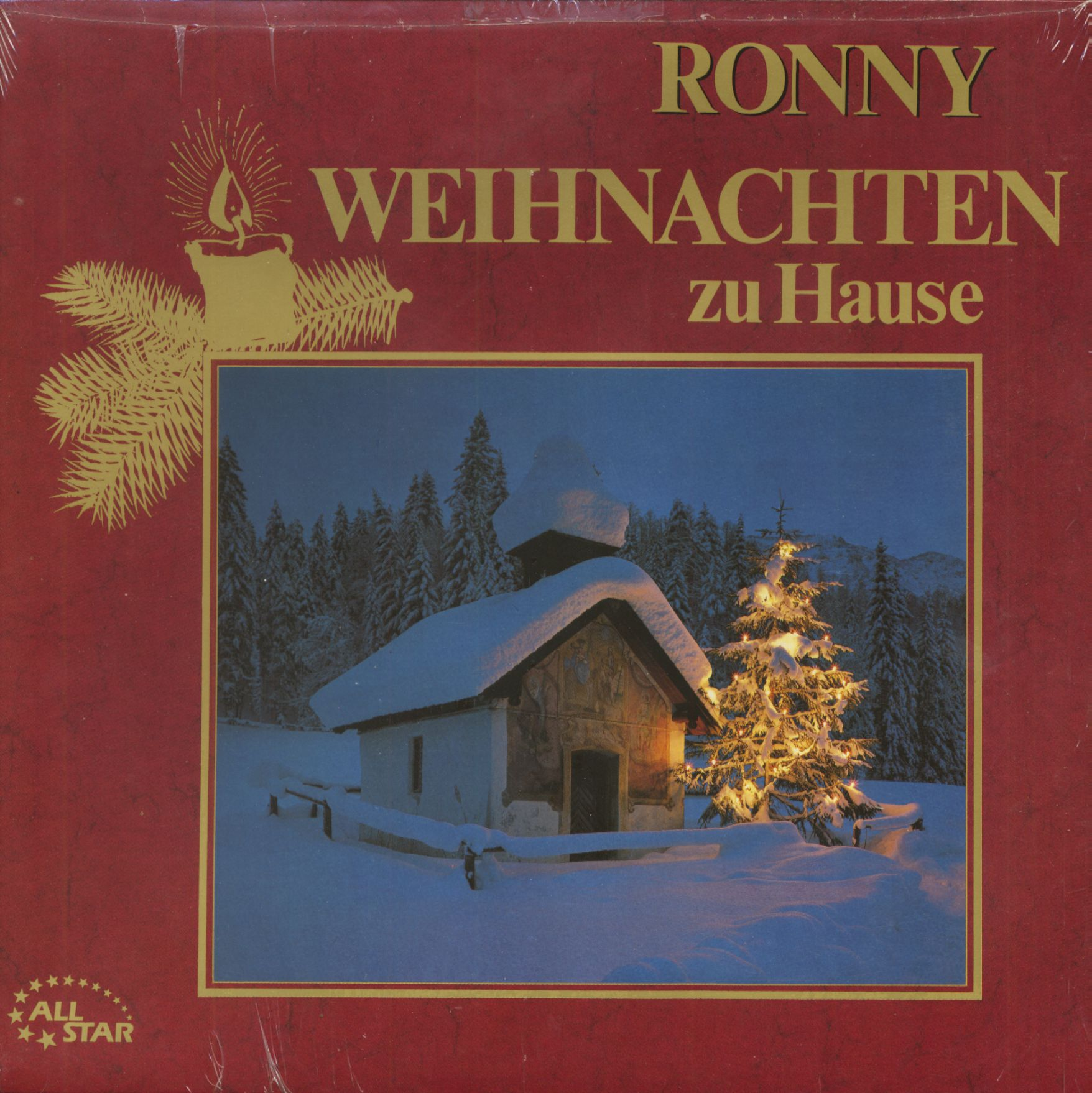 ronny lp weihnachten zu hause lp bear family records. Black Bedroom Furniture Sets. Home Design Ideas