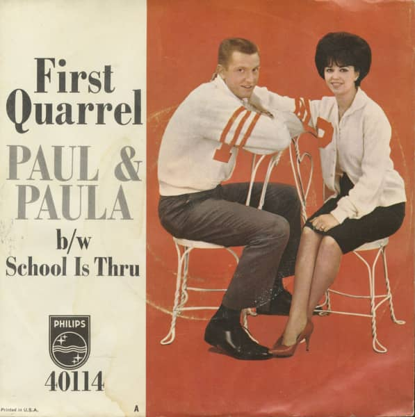 First Quarrel - School Is Thru (7inch, 45rpm, PS)