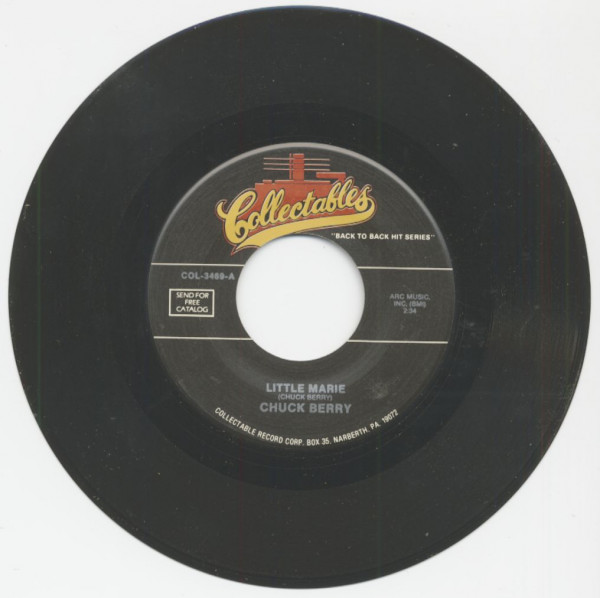 Little Marie - Deep Feeling (7inch, 45rpm)