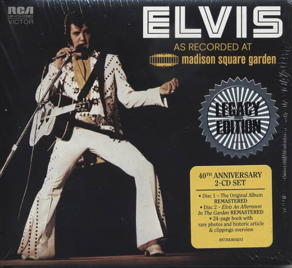 As Recorded At Madison Square Garden - Legacy Edition (2-CD) US