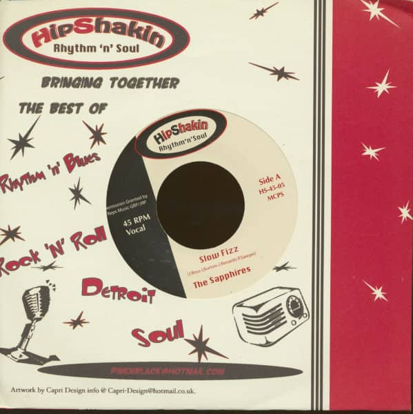 The Sapphires - The Persianettes (7inch, 45rpm, CS)
