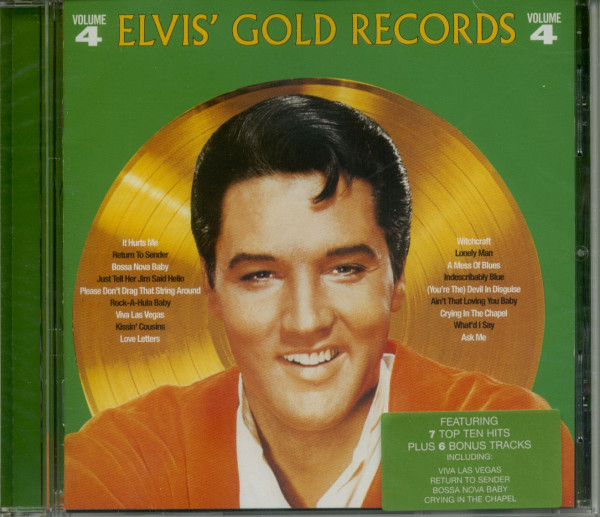 Elvis' Gold Records Volume 4 - 1997 EU (CD)