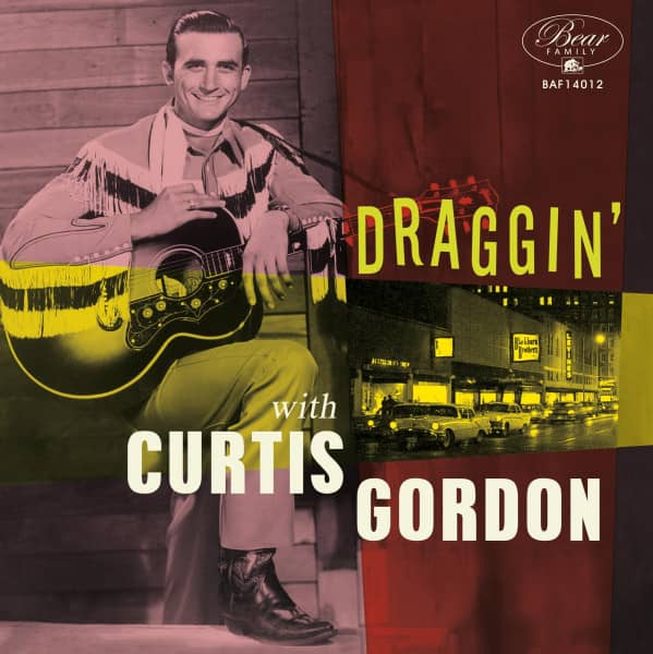 Draggin' With Curtis Gordon (LP, 10inch, Ltd, 45rpm)
