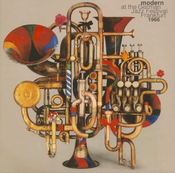 Modern At The German Jazz Festival 1966 (2-LP)