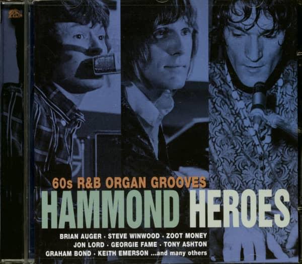 Hammond Heroes - 60s R&B Organ Grooves (CD)