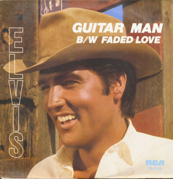 Guitar Man - Faded Love (7inch, 45rpm, PS)