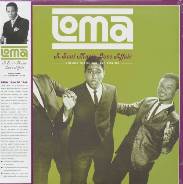 Loma - A Soul Music Love Affair, Vol.3 (LP, 180g Vinyl)