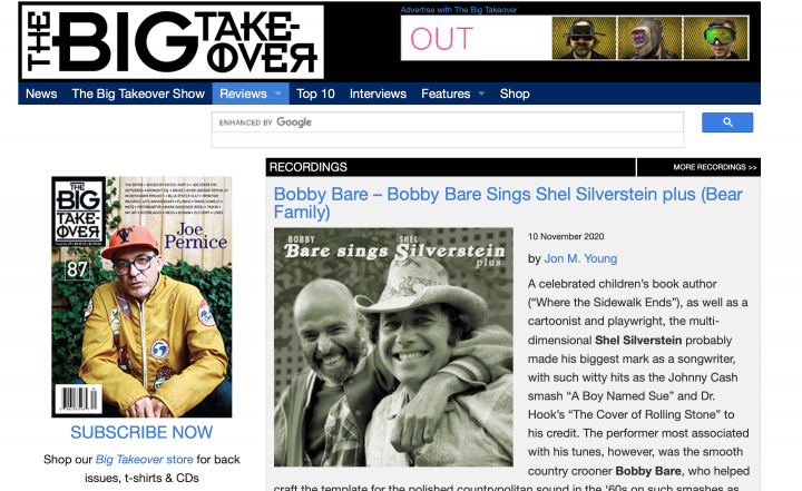 Presse-Archive-Bobby-Bare-Bobby-Bare-Sings-Shel-Silverstein-plus-The-Big-Takeover