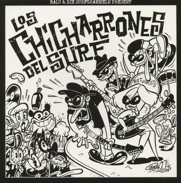 Los Chicharrones Del Surf (EP, 10inch, 45rpm, Ltd.)
