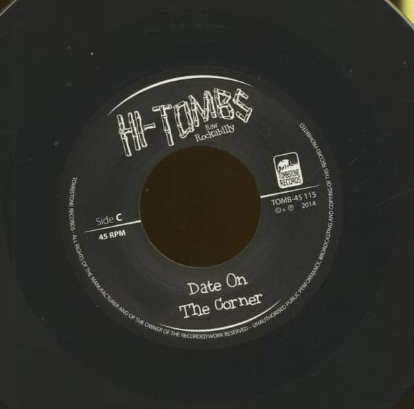 Date On The Corner - Rock With Me Baby (7inch, 45rpm)
