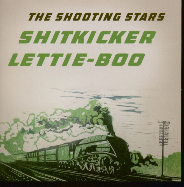 Shitkicker - Lettie-Boo - red vinyl and small center