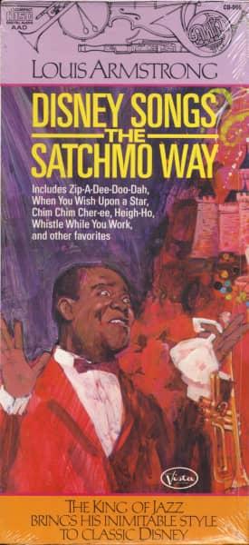 Disney Songs The Satchmo Way (CD)