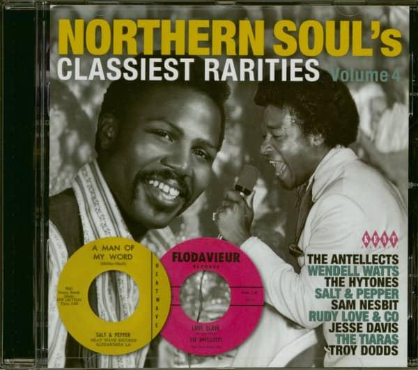 Northern Soul's Classiest Rarities Vol.4 (CD)