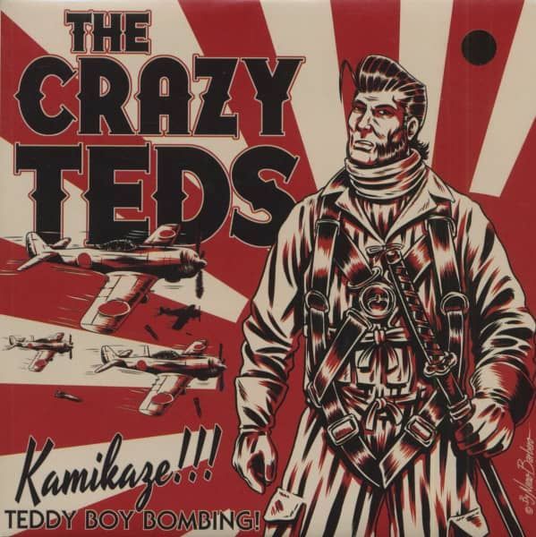 Kamikaze (7inch, 45rpm, EP, PS)