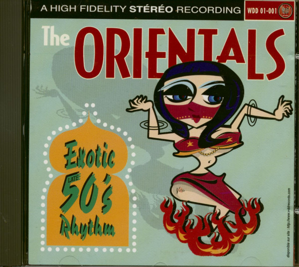 Exotic 50s Easy Listening And Rock'n'Roll (CD)