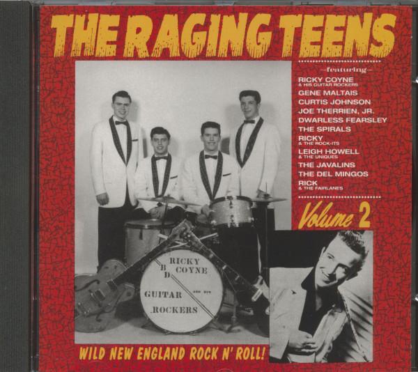 The Raging Teens - Wild New England Rock'n'Roll Vol.2 (CD)