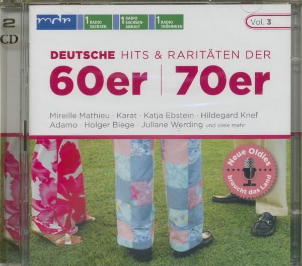 Deutsche Hits & Raritäten 60er - 70er (2-CD)