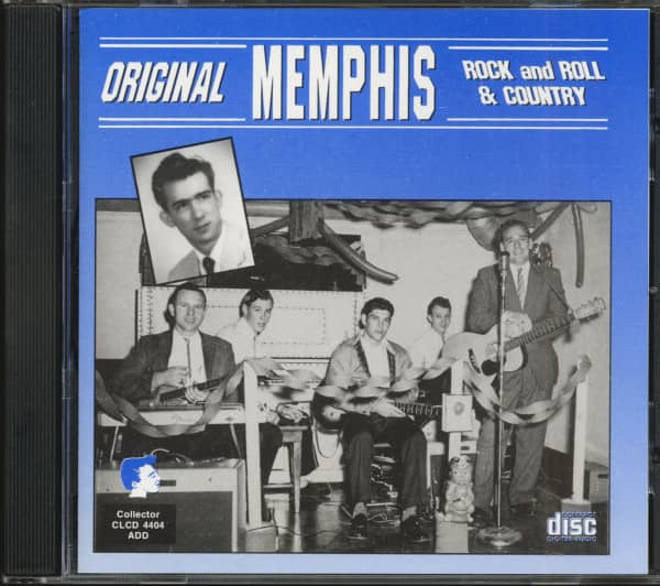 Original Memphis Rock & Roll Country (CD)
