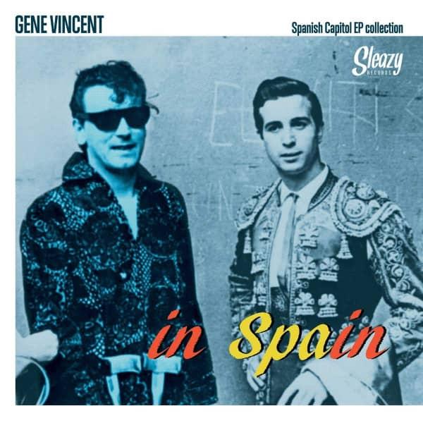 Gene Vincent In Spain (3-LP, Tri-Fold Cover, Ltd.)