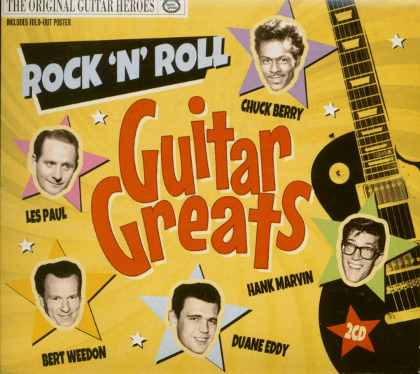 Rock 'N' Roll Guitar Greats (2-CD)