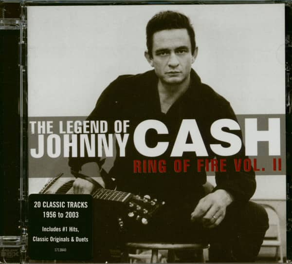The Legend Of Johnny Cash - Ring Of Fire Vol.2 (CD)