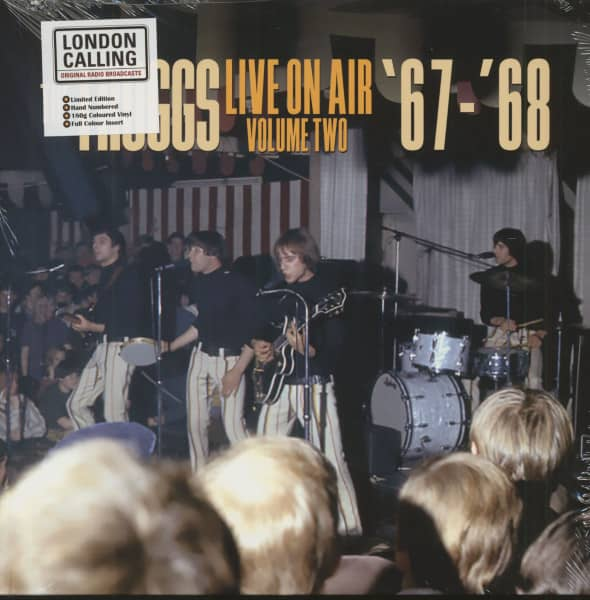 Live On Air - Volume Two 67-68 (LP, 180g Blue Vinyl, Ltd. & Numbered)