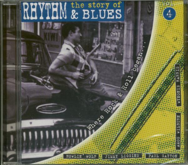 Vol.4, The Story Of Rhythm & Blues (CD)