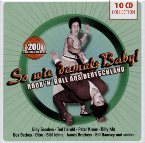 So wie damals Baby! Rock 'n' Roll Aus Deutschland (10-CD)