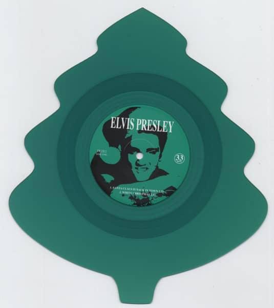 Santa Claus... - Christmas Tree Shaped-EP (Green Vinyl)