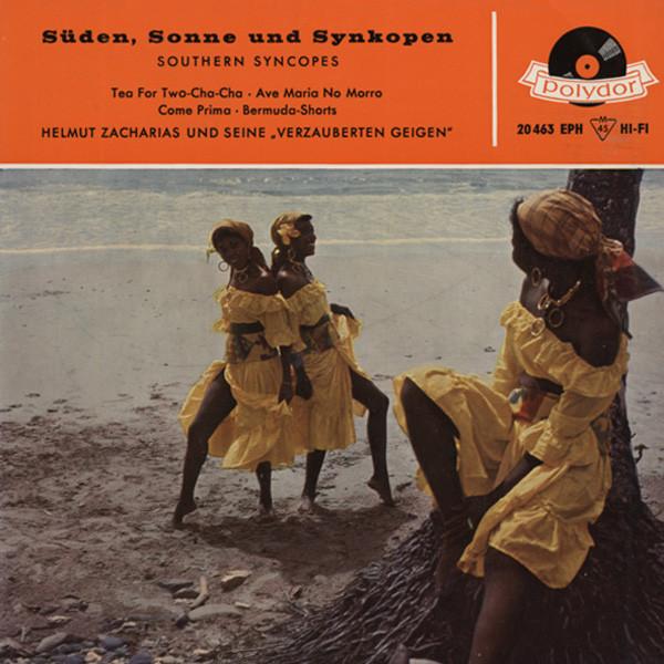 Süden, Sonne & Synkopen 7inch, 45rpm, EP Bildhülle