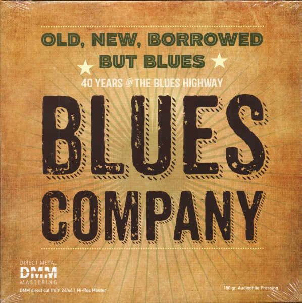 Old, New, Borrowed But Blues (2-LP, 180g Vinyl)