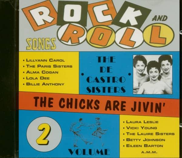 Rock & Roll Hits - Chick's Are Jivin' Vol.2 (CD)