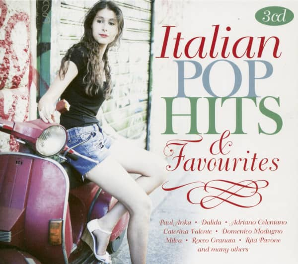 Italian Pop Hits & Favourites (3-CD)