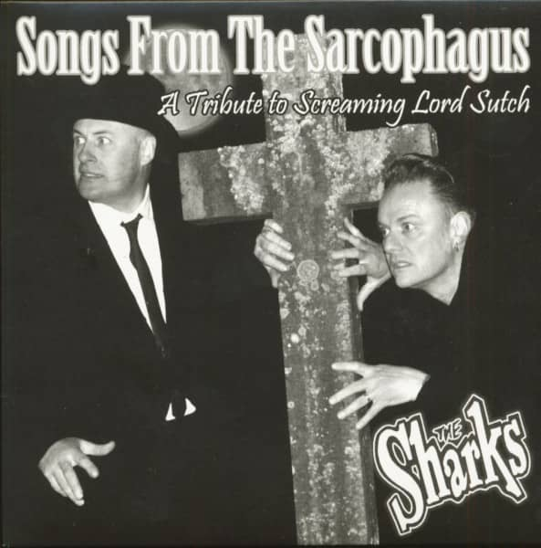 Songs From The Sarcophagus - A Tribute To Screaming Lord Sutch (EP, 7inch, 45rpm, PS, BC)