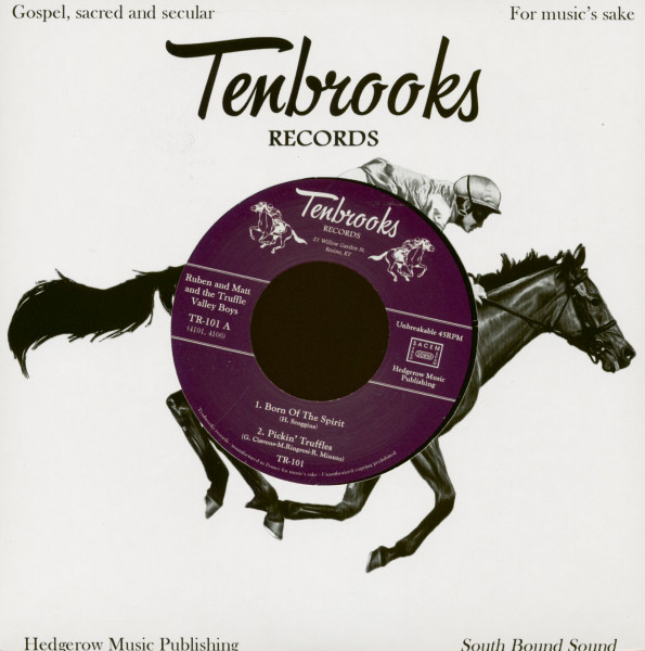 Born Of The Spirit - Pickin' Truffles - Tell Me Little Darling - A Wonderful Home (7inch, 45rpm, EP)