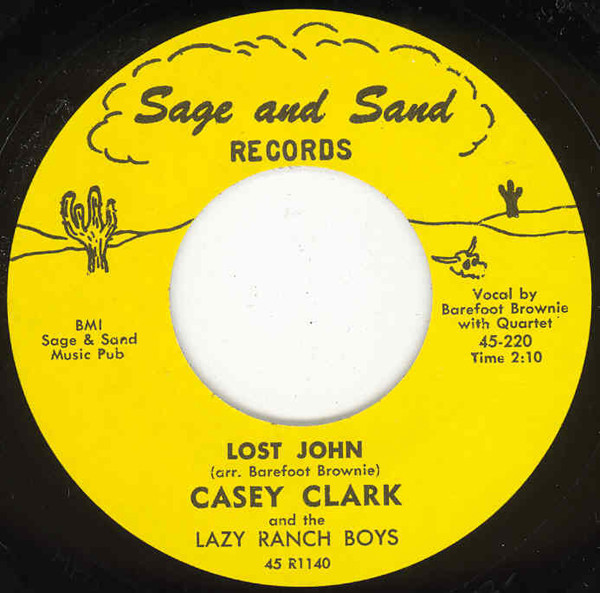 Lost John b-w Pot Of Gold 7inch, 45rpm