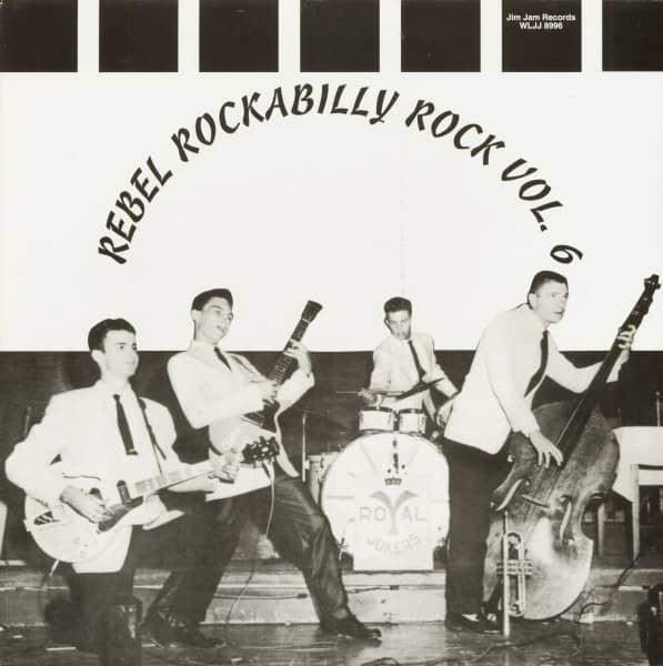 Rebel Rockabilly Rock Vol.6 (LP)