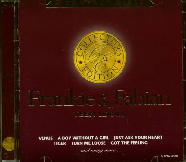 Frankie & Fabian - Teen Idols (2-CD)
