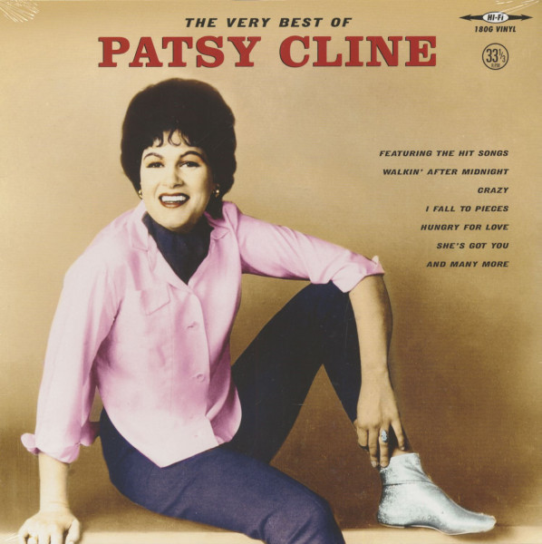 The Very Best Of Patsy Cline (LP, 180g Vinyl)