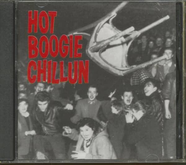 Hot Boogie Chillun (CD)