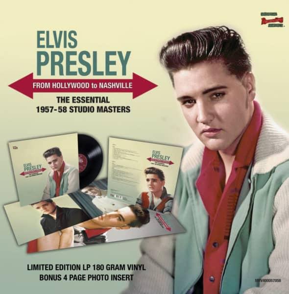 From Hollywood To Nashville (LP, 180g, Clear Vinyl, Ltd.)